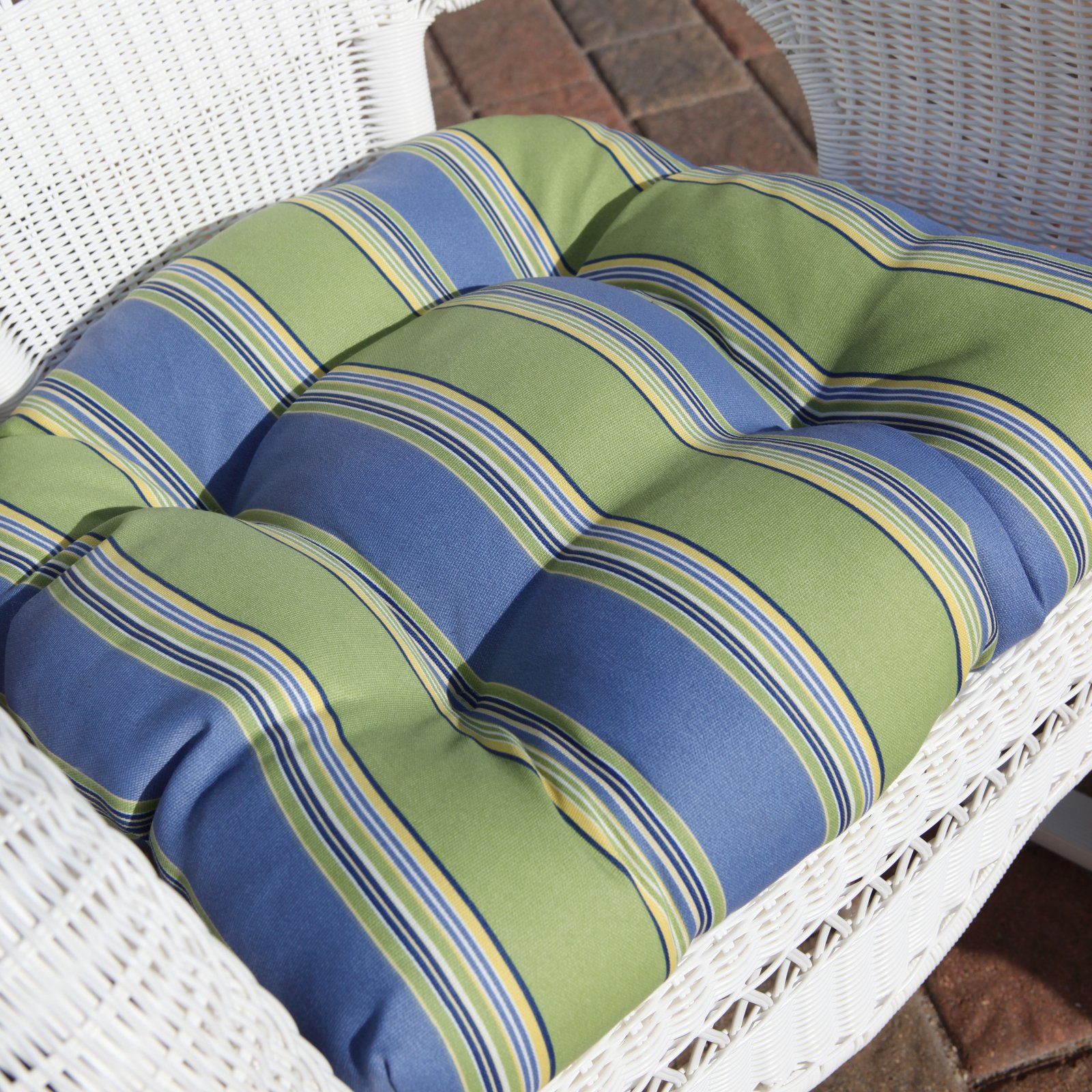 Sahara 17 x 19 in. Outdoor Wicker Chair Cushion