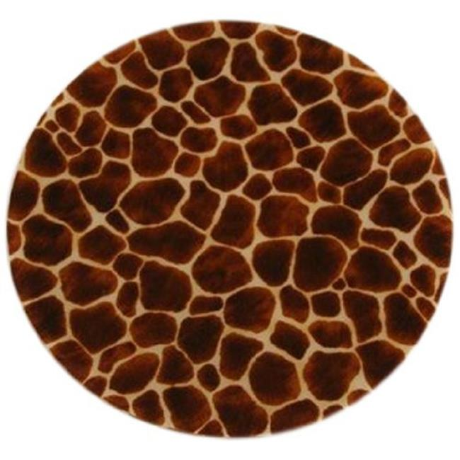 Andreas TRC-181 Giraffe Casserole Silicone Trivet - Pack of 3 trivets