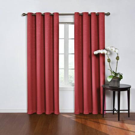 Eclipse Round and Round Room Darkening Window Curtain Panel