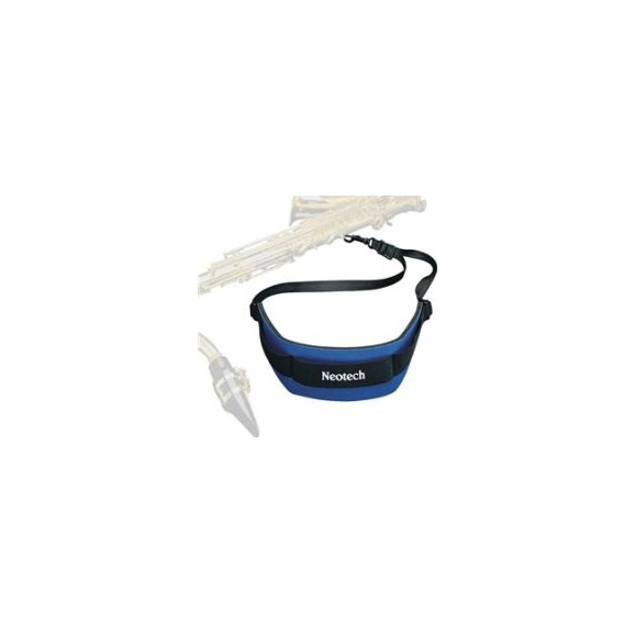 Neotech Soft Sax Strap in Royal Blue with Swivel Hook