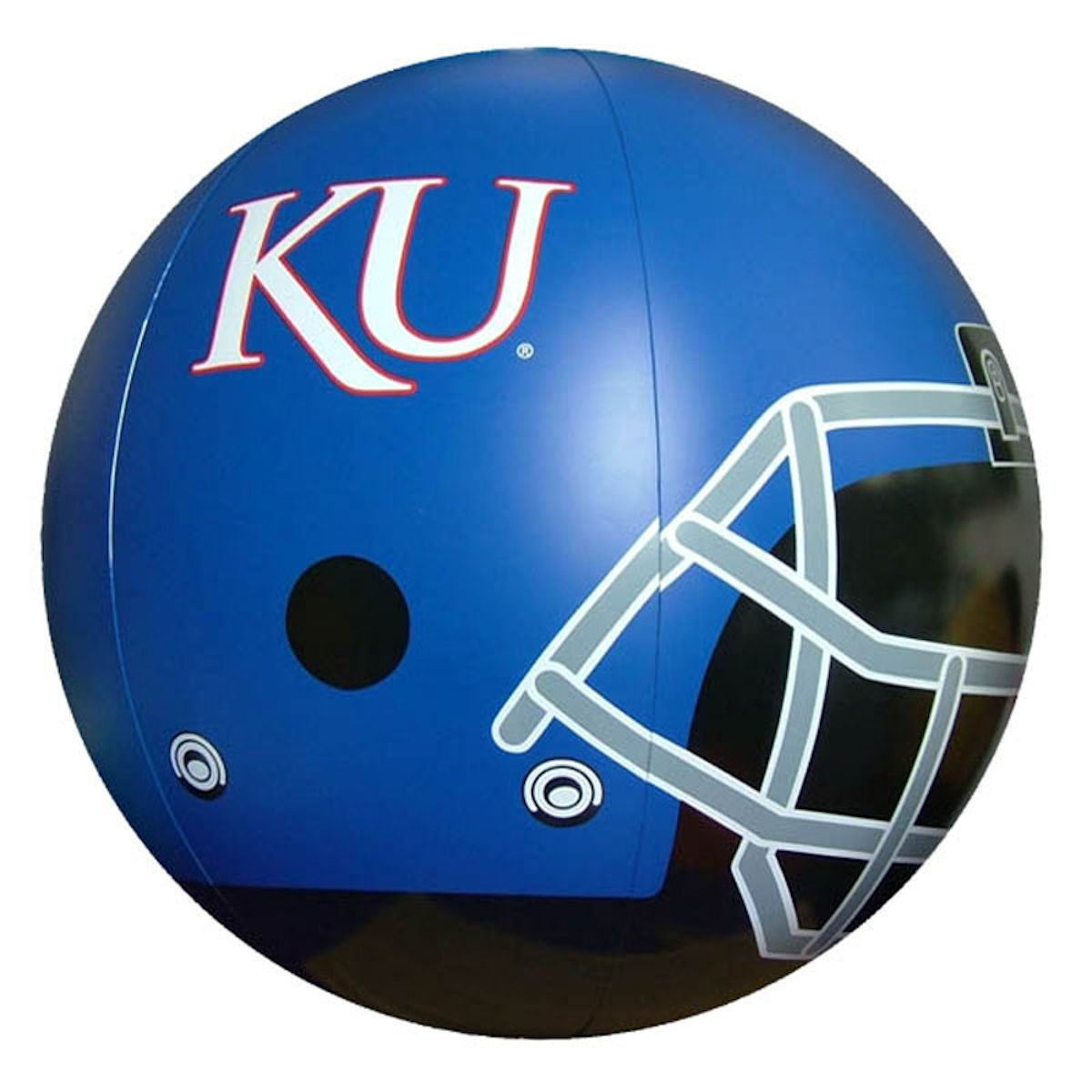 Kansas Jayhawks Beach Ball