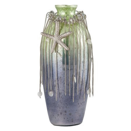 - Sterling Corfu 12 in. Glass Table Vase