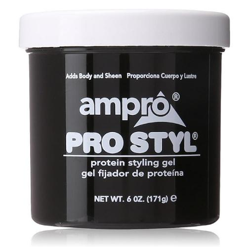 styling gel for black hair ampro pro style protein styling gel 6 oz pack of 6 6941