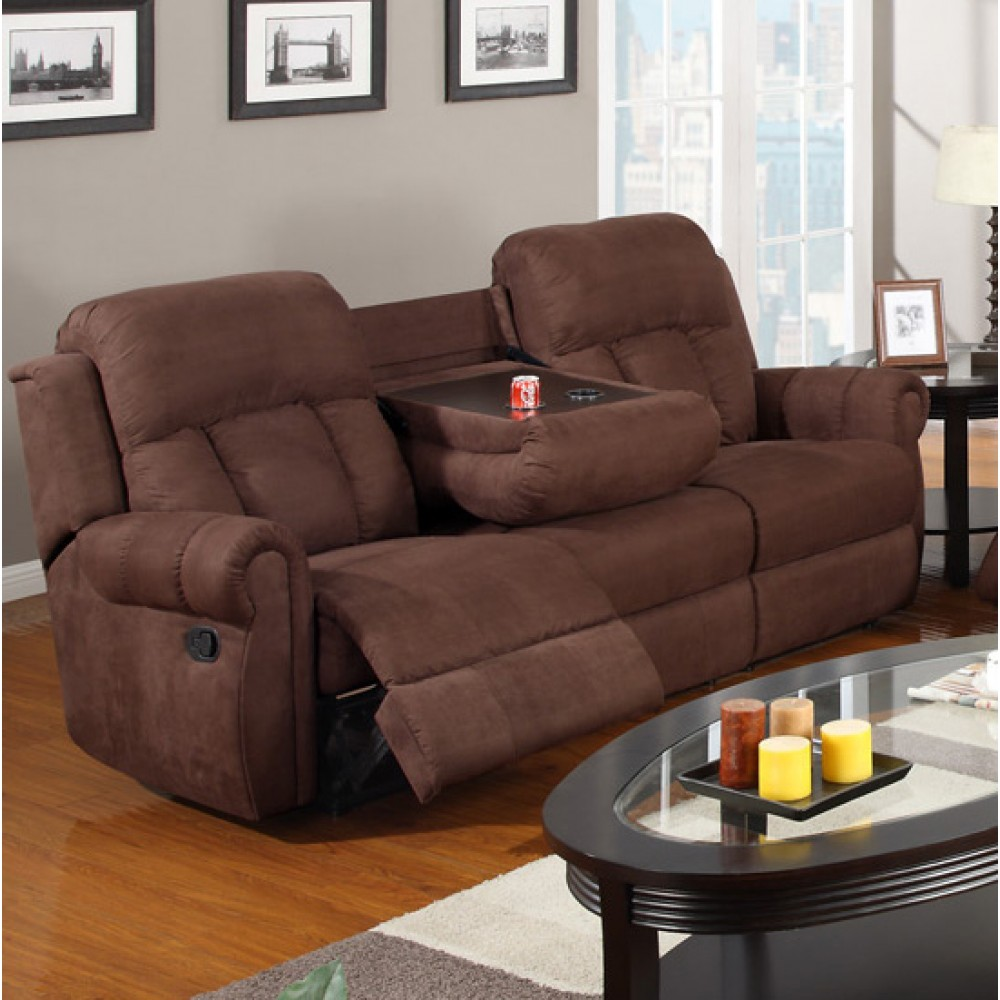 Sofa Set full Microfiber Chocolate Sofa Furniture Living room ...