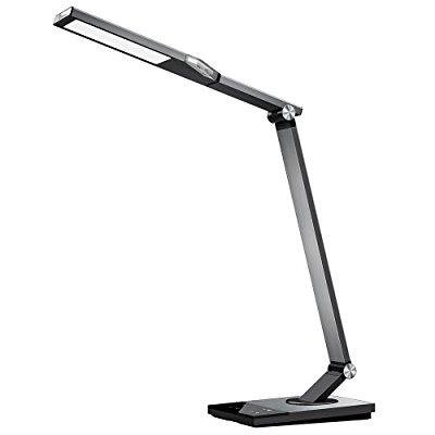 Taotronics Stylish Metal Led Desk Lamp Office Light With 5v 2a Usb Port