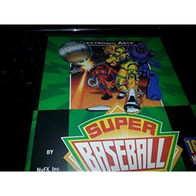 Super Baseball 2020 Sega Genesis by