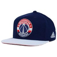 17bc1f567d2 Product Image Adidas NBA Men s Washington Wizards 2015 Draft Day Authentic  Snap Back Hat
