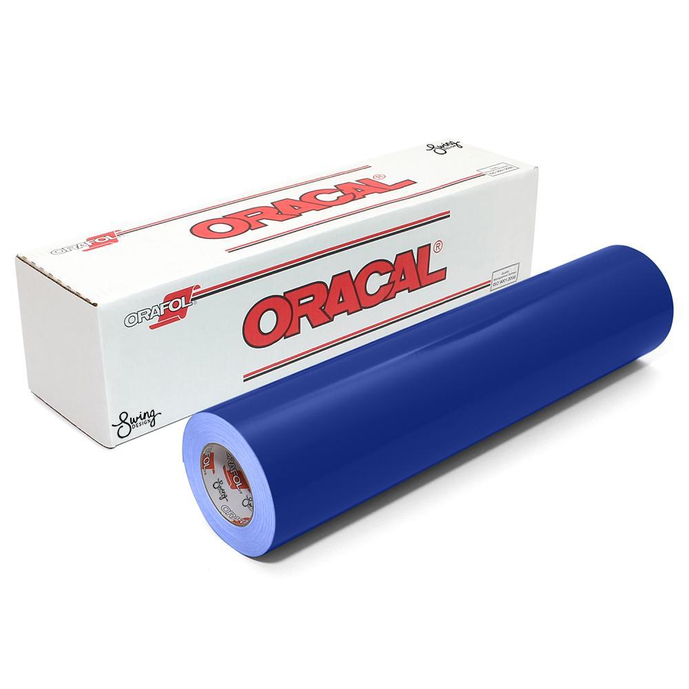 Oracal 651 Glossy Vinyl Rolls - King Blue