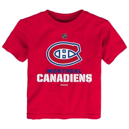 Montreal Canadiens Reebok Toddler Clean Cut T-Shirt - Red