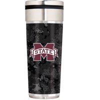 Mississippi State Bulldogs Operation Hat Trick 22oz. Travel Tumbler - Silver - No Size