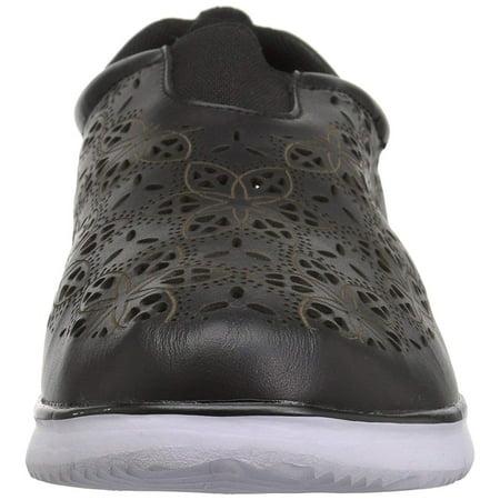 Propét Womens Hannah Leather Low Top Slip On Fashion Sneakers - image 1 de 2