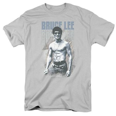 Bruce Lee Blue Jean Lee Officially Licensed Adult T Shirt