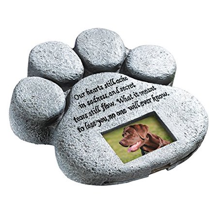 Own Pet Memorial - Paw Print Pet Memorial Stone