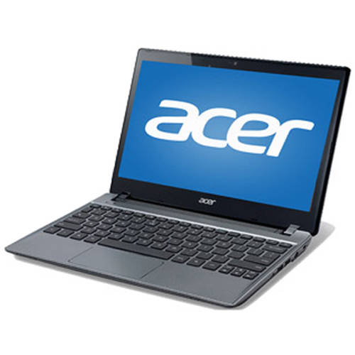 """Acer Refurbished Silver 11.6"""" C710-2856 Chromebook PC with Intel Celeron 847 Dual-Core Processor, 2GB Memory, 16GB SSD and Chrome OS"""