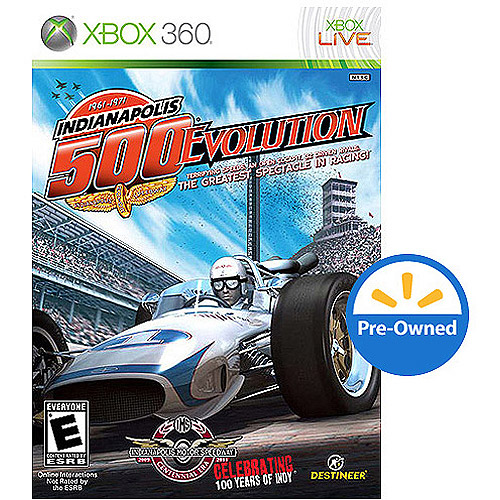 1961-1971 Indianapolis 500 Evolution (Xbox 360) - Pre-Owned