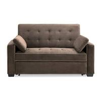 Serta Alyssa Sofa Bed, Brown