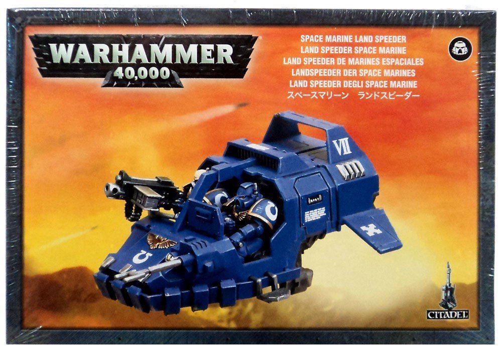 40K (40,000) Space Marines Land Speeder, This box set contains one multi-part plastic Space Marine Land... by