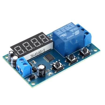 Multifunction Delay Time Module Switch Control Relay Cycle Timer DC 12V - image 4 of 7
