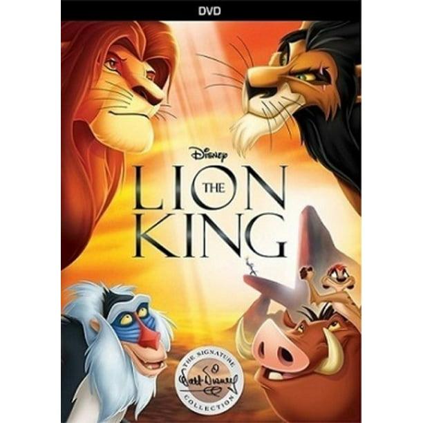 The Lion King Signature Collection Dvd Walmart Com Walmart Com