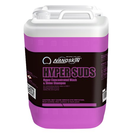 Nanoskin (NA-HSS640) HYPER SUDS Hyper Concentrated Wash & Shine Shampoo 800:1 - 5 Gallon - Shaggy Dog Wash