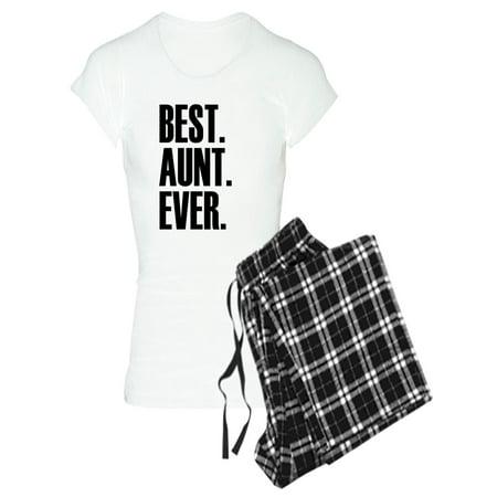 CafePress - Best Aunt Ever Pajamas - Women's Light