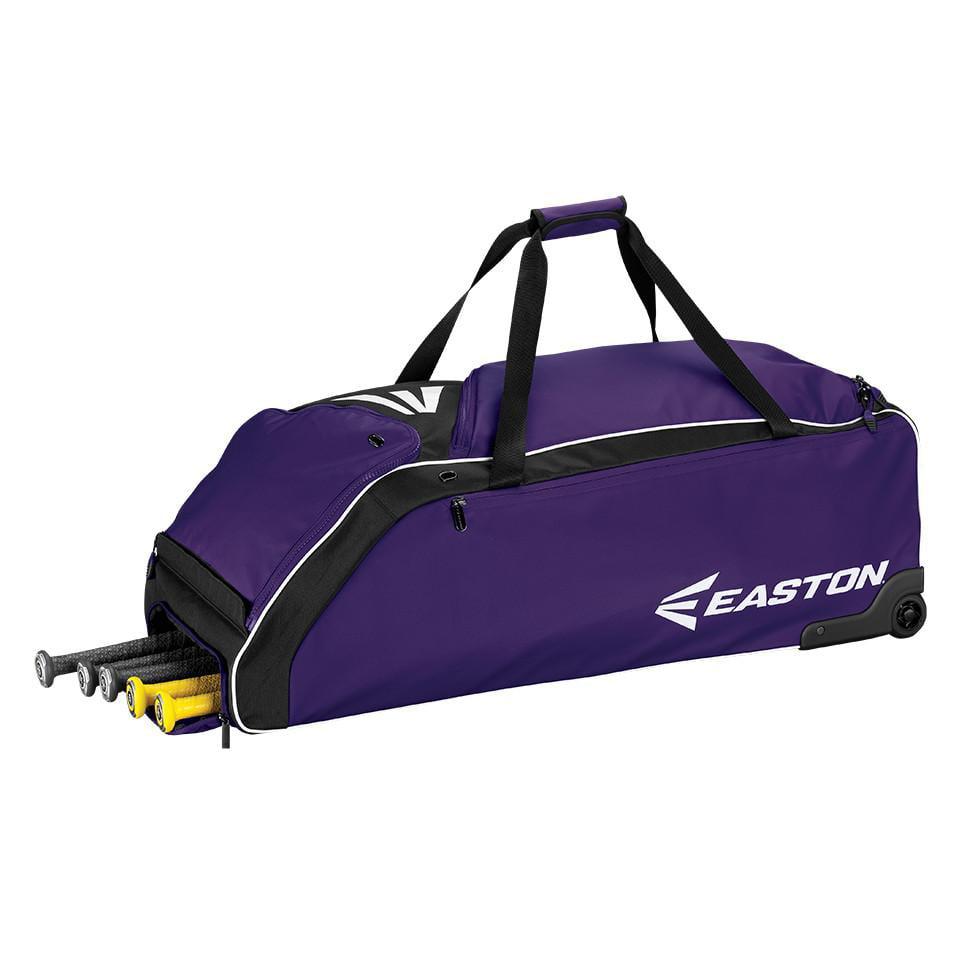 Easton E610W Wheeled Bag, Purple 36in x 14.5in x 12in