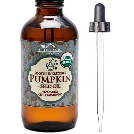 100% Pure Certified USDA Organic - Pumpkin Seed Oil 4 - Pumpkin Owl