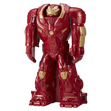 Marvel Avengers: Infinity War 33-inch Hulkbuster Ultimate Figure HQ Playset Toy Converts to 22-inch Mega Figure for Ages 4 and