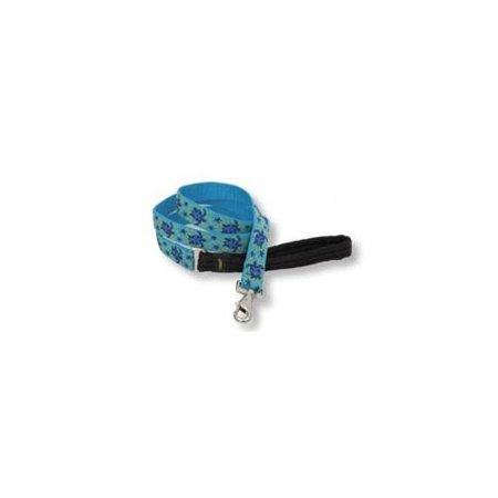 Lupine 80859 1 inch Turtle Reef 6 ft.  Padded Handle Dog Leash
