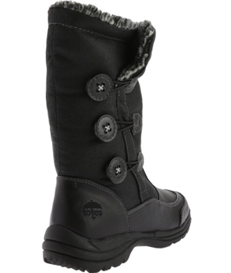 totes women's celina waterproof 7 snow boot,black,us 7 waterproof m b56ecd