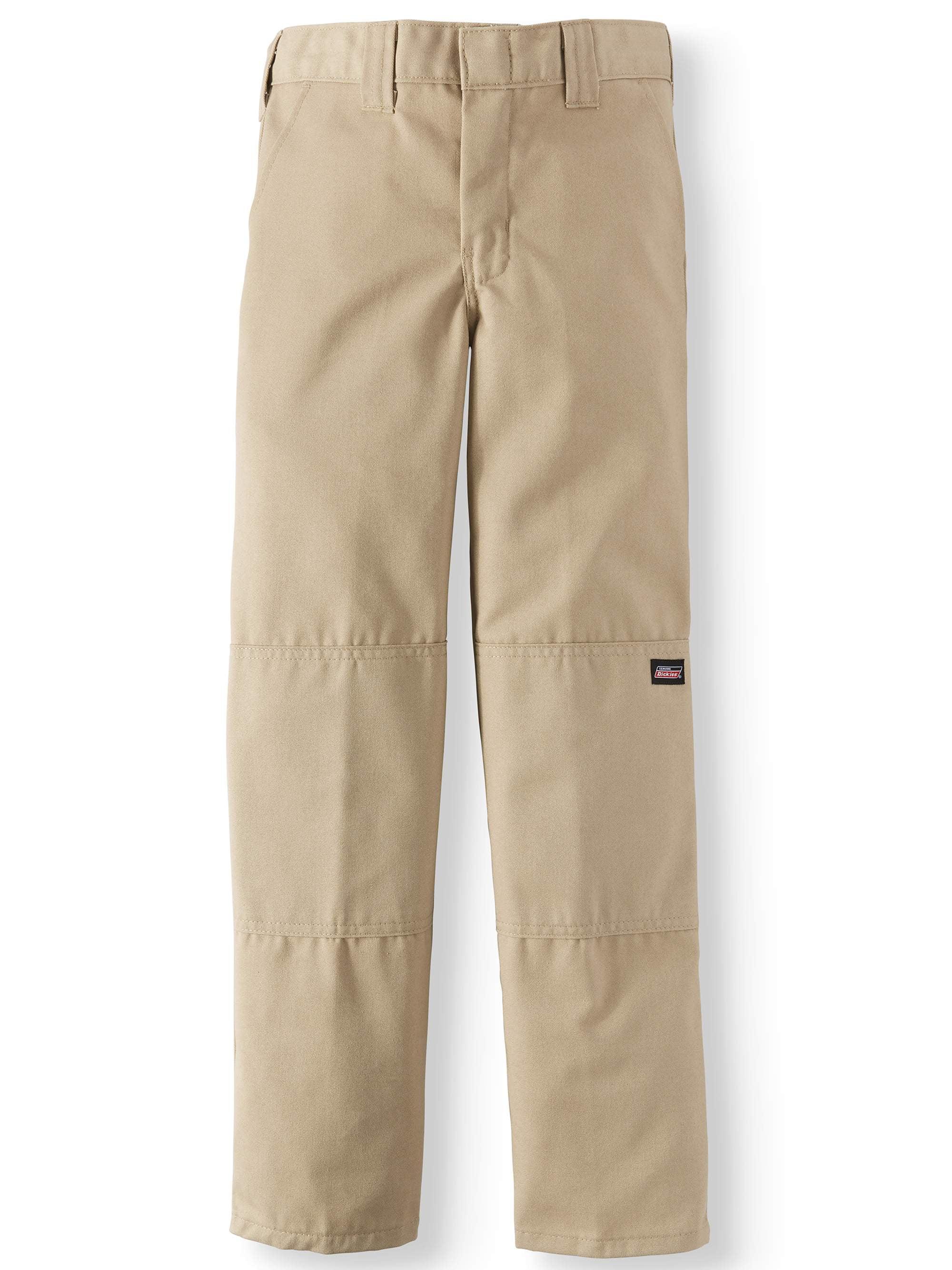 02930fe4a Genuine Dickies - Husky Boy's Traditional School Uniform Style Pants -  Walmart.com