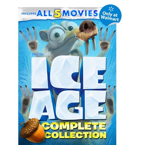 Ice Age Complete Collection Ice Age The Meltdown Dawn Of The Dinosaurs Continental Drift Collision Course Walmart Exclusive Widescreen Dvd Walmart Com Walmart Com