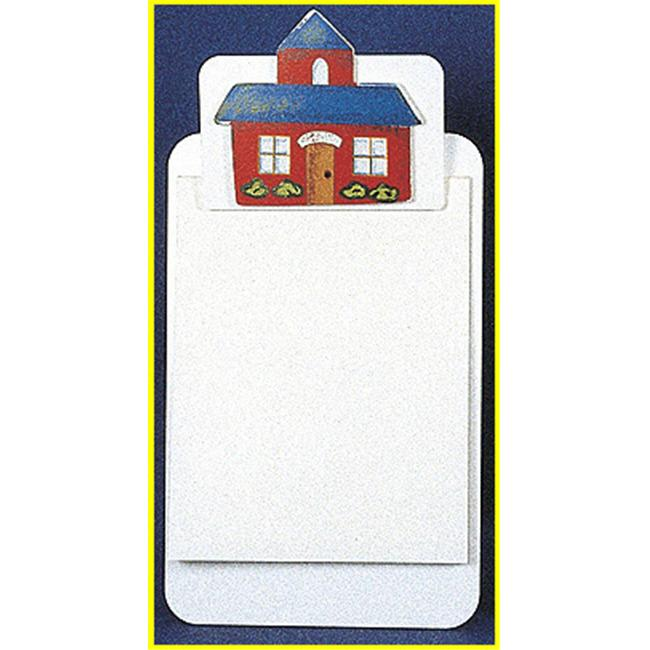 AFFLUENCE UNLIMITED AU-31832 CLIPBOARDS SCHOOL HOUSE - image 1 of 1