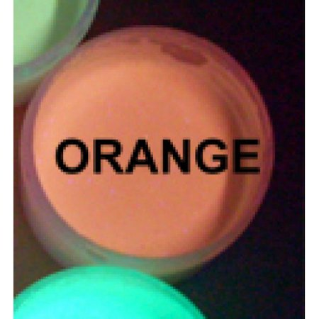 Orange UV Reactive Daytime Invisible Neon Paint-2oz