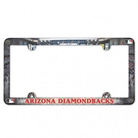 Arizona Diamondbacks Full Color Plastic License Plate Frame - image 1 de 1
