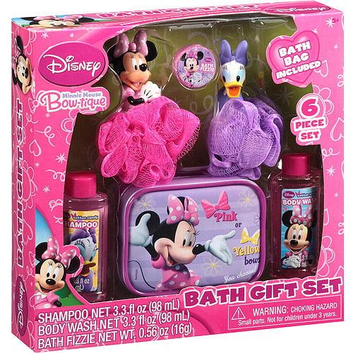Minnie Mouse Bath Gift Set
