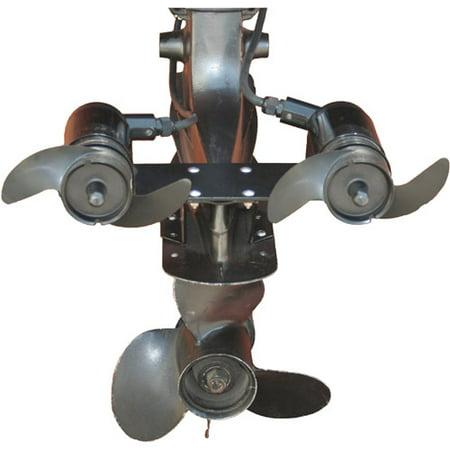 Navigator Engine Mount Trolling Motor 24-Volt Dual-Motor Model for boats up to 6,000 - Model Boat Hull Plans