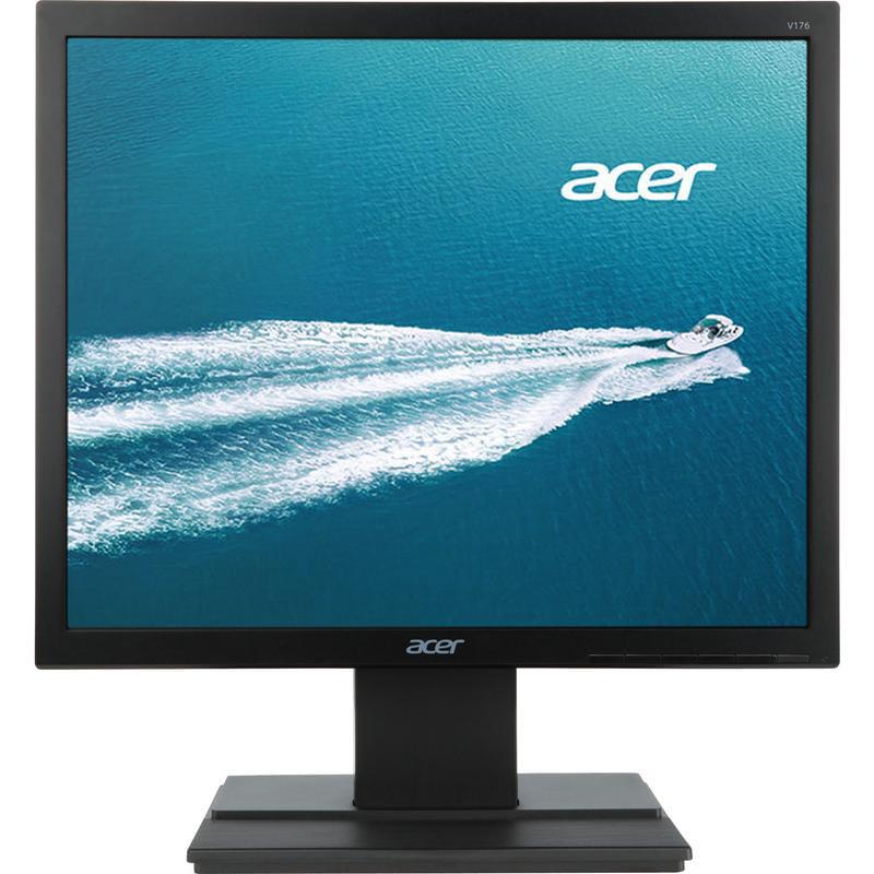 """Acer 17"""" LCD Monitor (V176LB Black), Manufacturer Refurbished"""