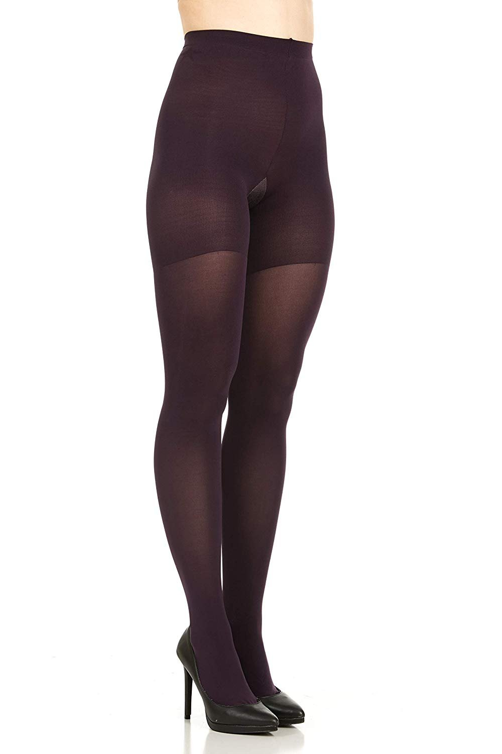 a21072c78cf5d1 Star Power By Spanx Womens Center-stage Shaping Tights PLUS Amethyst Sz F