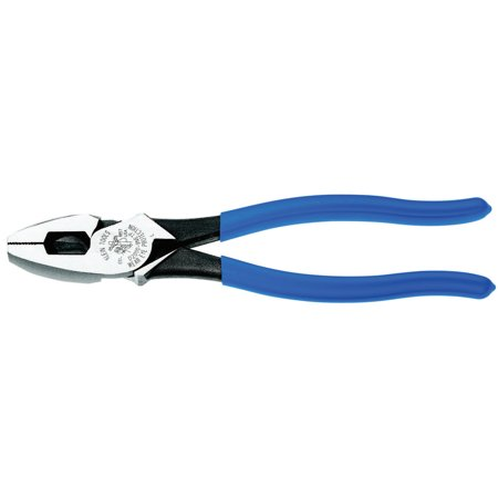 Klein Tools NE-Type Side Cutter Pliers, 9 3/8 in Length, 23/32 in Cut, Plastic-Dipped