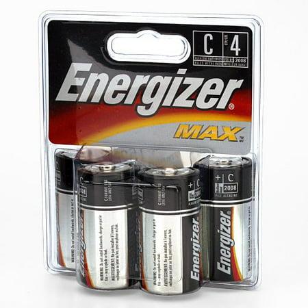 energizer c cell alkaline battery retail pack 4 pack. Black Bedroom Furniture Sets. Home Design Ideas