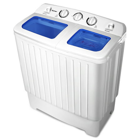 Portable Mini Compact Twin Tub Washing Machine Washer Spin ...