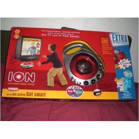 Playskool Ion Educational Gaming System with 3 Discs - Best of Nickelodeon, SpongeBob Squarepants & Blues Clues Blue's Room Birthday Party