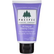 Pacific Shaving Company Women's All Natural Shaving Cream 3 oz (Pack of 6)