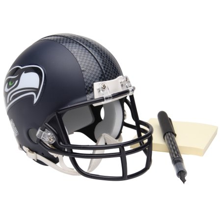 Riddell Mini Replica Throwback Helmet - Riddell Seattle Seahawks Replica Mini Helmet - No Size