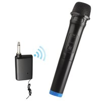 Wireless Microphone, EEEkit Wireless Microphone Karaoke Bluetooth Microphone, Professional Dynamic Handheld Cordless Mic with VHF Receiver for Karaoke/Singing/Church/Speech