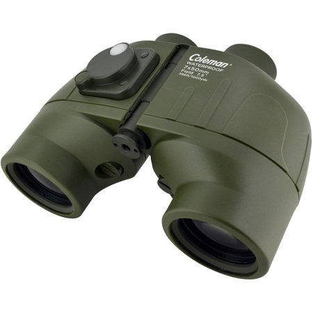 COLEMAN Signature 7x50 Waterproof  Porro Binoculars with Illuminated Reticle and Individual Eye Focusing