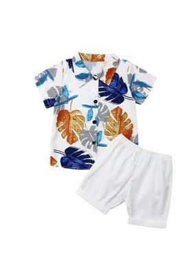 USA Fireworks Unisex Baby Shirt and Shorts Set 4 Preemie and Newborn Sizes