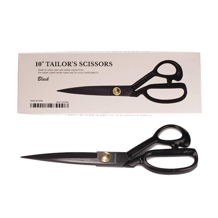 Professional Dressmaking Fabric Scissors - Industrial High Carbon Steel - 10