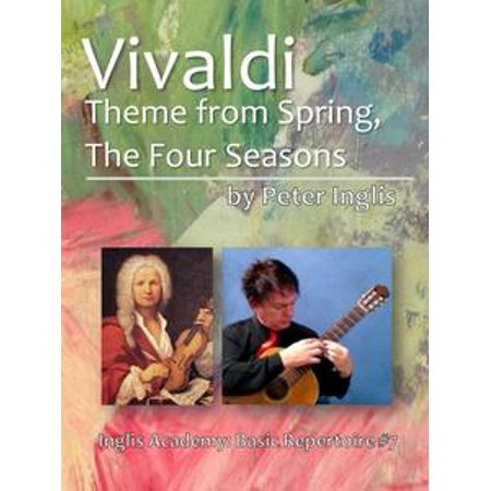 Vivaldi, Theme from Spring, The Four Seasons - eBook - Spring Prom Themes